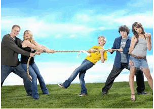 Tug Of War Teens