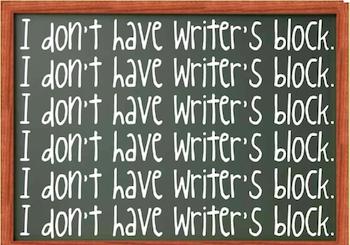Writer's Block Image