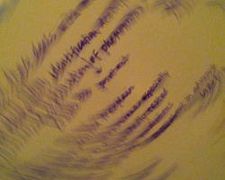 Blurry Words Image.CreativeMarbles2012