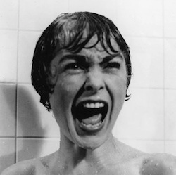 Image of Screaming Janet Leigh in Psycho