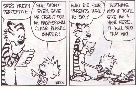 Calvin & Hobbes Teacher