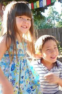 My beautiful and joyful children.